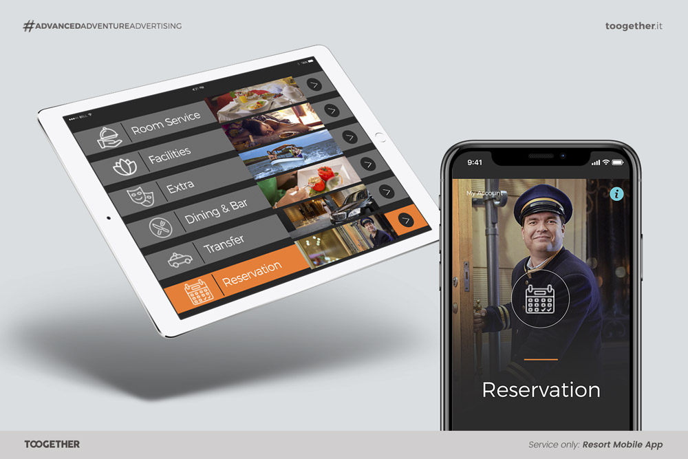 App per Hotel e Resort